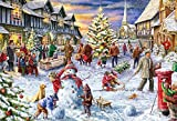 Gibsons  A White Christmas Gift Jigsaw Puzzle (500-Piece)