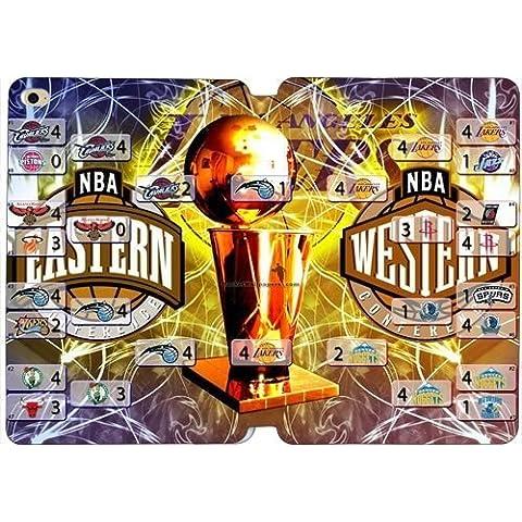 iPad Mini 4caso/los _ angeles _ _ Lakers NBA _ baloncesto soporte funda Flip Cover Folio–Funda de piel Para Ipad Mini 4con lápiz capacitivo ti5704503
