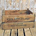 Rustic Vintage Style Wooden Apple Box...