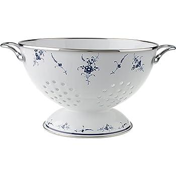 Sieb Emaille Weiß 0435-11 Küchensieb Nudelsieb Seiher Shabby Ib Laursen