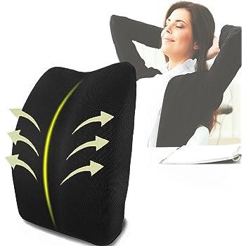 SMELOV ® memory foam supporto lombare ortopedico indietro cuscino cuscino per mal di schiena sollievo