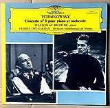 Disque Vinyle LP 33 tours - Deutsche Grammophon 138822 - Tchaikowsky - Concerto n°1 pour Piano et Orchestre - Svjatoslav Richter (Piano) - Orchestre Symphonique de Vienne - Direction : Herbert Von Karajan