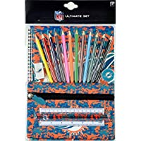 Forever Collectibles NFL Football Miami Dolphins Camo Stationery Set Schulbedarf Buntstifte Etc