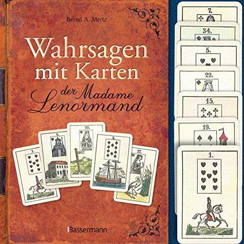 Wahrsagen mit Karten der Madame Lenormand-Set: Mit 36 Lenormandkarten