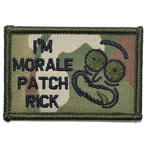 I 'm moral parche Rick–2x 3moral parche–varios colores