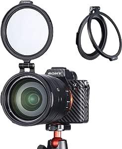 Rapid Filtersystem 77 Auf 82 Mm Filter Adapterring Kamera