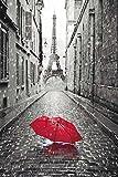 Close Up Paris Poster Eiffelturm Regenschirm (61cm x 91,5cm) + Ü-Poster