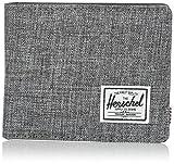 Herschel Hank Stoff, Leder, Kunststoff schwarz, grau