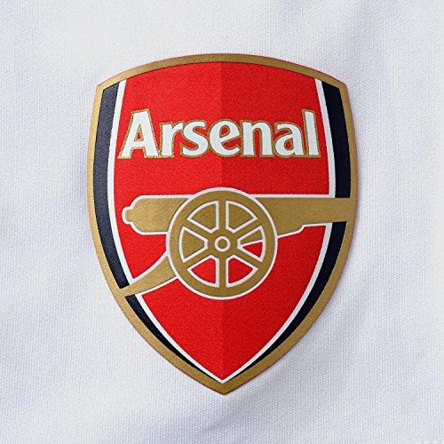 Puma Arsenal Football Team Club Replica Shorts - White High Risk Red  Large