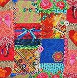 Textile London Batterflies Knöpfe Schleifen rot pink blau