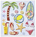 CREApop® Sticker Urlaub I
