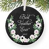 Best Regalos del profesor Evers - Decoración navideña adorno profesor regalos mejor profesor ever Review