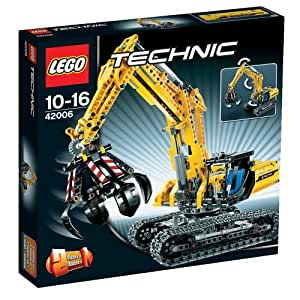 lego technic 42006 raupenbagger spielzeug. Black Bedroom Furniture Sets. Home Design Ideas