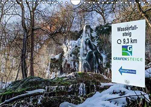 Wassserfallsteig Urach - Grafensteige 2018 (Wandkalender 2018 DIN A4 quer): Wasserfallsteig bei Bad Urach (Monatskalender, 14 Seiten ) (CALVENDO Natur) [Kalender] [Apr 01, 2017] HerzogPictures, k.A.