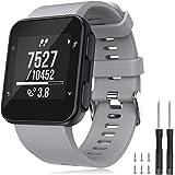 TOPsic Armband voor Garmin Forerunner 35 armband, horlogeband reservearmband silicone accessoires armbanden voor Forerunner 3