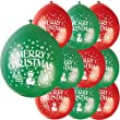 """9"""" Latex Merry Christmas Balloons, Pack of 10"""