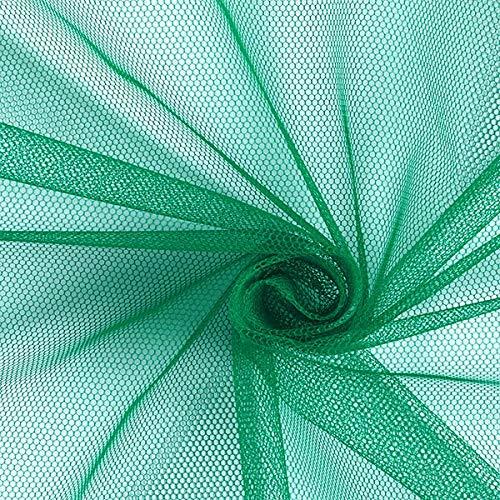 Fabulous Fabrics Tüllstoff - Grün – Leichter, elastischer Tüll zum Nähen von Röcken, Kleidern...