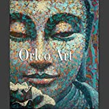 Hochwertiges Künstler handgefertigt High Qualität Southeast Asian Wind blau gepunktet Buddha Kopf Ölgemälde Leinwand Öl Gemälde Wand Deko Artwork, canvas, blau, 28x36inch(70x90cm)