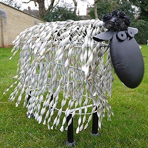 Outdoor Shaun The Sheep Lamb Animal Garden Art Statue Ornament Large Sculpture (Extra Large)