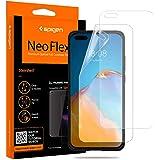 Spigen, 2 stuks, Screenprotector compatibel met Huawei P40 Pro/P40 Pro+, NeoFlex, Case friendly, TPU-film, waterinstallatie,