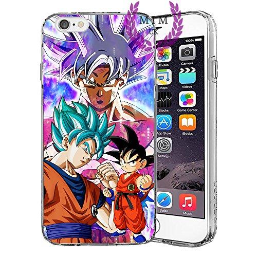 Dragon Ball Z Super GT iPhone Hüllen-Ultra Instinct-Goku Blau-Vegeta Blau-Gohan-Goku Rose-MIM UK, iPhone 5/5s/SE, Saviour (Fall 5s Dragon Ball Z)