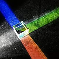 Six-Sided X-Cube Bright Light Cubic Colored Glass Prism Beam Splitting Prism