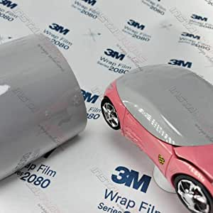 3m 1080 Gloss Storm Gray G31 Vinyl Car Wrap Film Sample 3in X 5in Auto