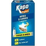 KAPO Cassettes mites et larves x2 - L'étui de 2
