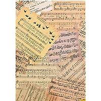 Cadence Papel de Arroz Partituras 30x41cm. Ref. 191