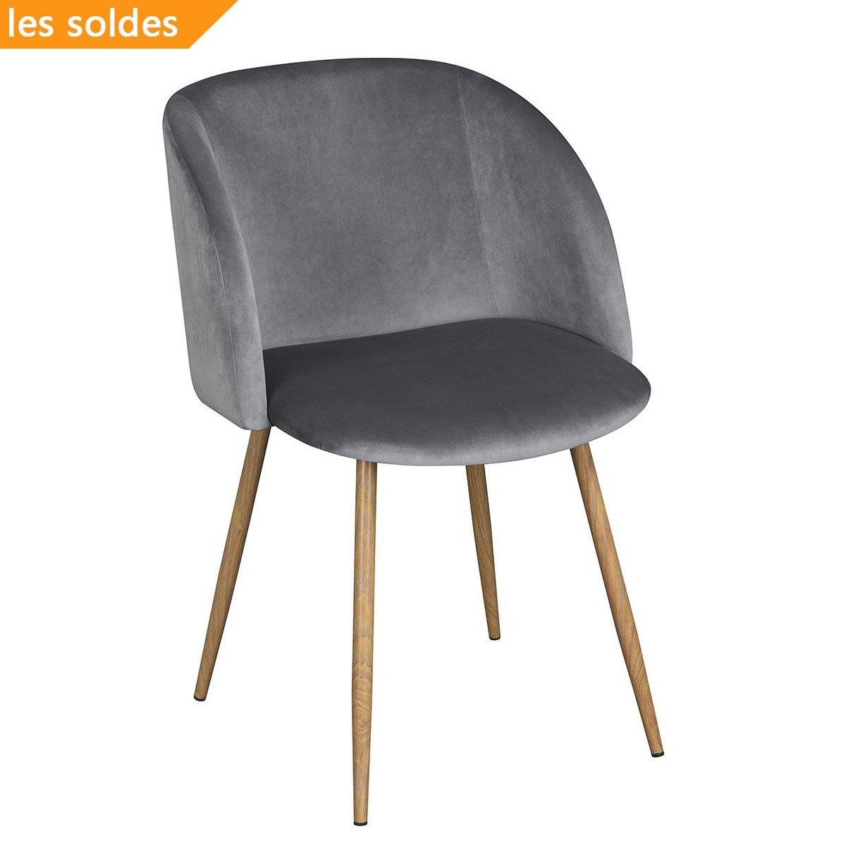 Clubsessel weiß grau  1er Set Vintager Retro Stuhl Polstersessel Samt Lounge sessel ...