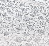 brandsseller Tischdecke - Tischfolie Transparent - Lillien - Größe: 110 x 140 cm
