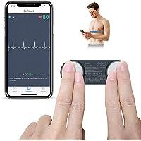 Portable Ceinture Cardio pour Moniteur ECG, ViATOM Moniteur de Fréquence Cardiaque, avec Bluetooth APP pour iOS/Android…