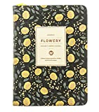 Ai-life Daily Planner Calendar Schedule Organizer Notebook with Non Dated Page, Flora Pattern Bound To-Do List Book - Daily Planner To Do Pad - Best Agenda Day Planner to Achieve Your Goals & Increase Productivity(110x150mm)