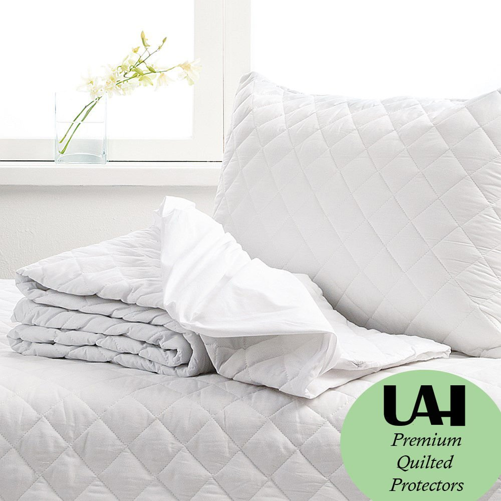 E4emporium Quilted Mattress Protector Fitted Mattress Cover Bunk