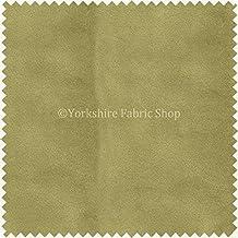 New suave tela de terciopelo ideal para persianas cojines cortinas sofás muebles Verde, Color Verde–Se Vende por Metro.