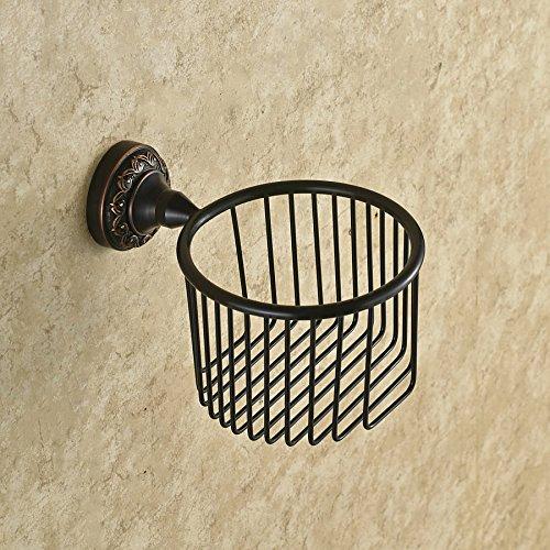 luckyNO.1 Taschentuchbox Kupfer Schwarz Bronze Papiertuch Toilettenpapierhalter Papierhalter Mesh Bad Anhänger 5 Kg Mesh-serviette