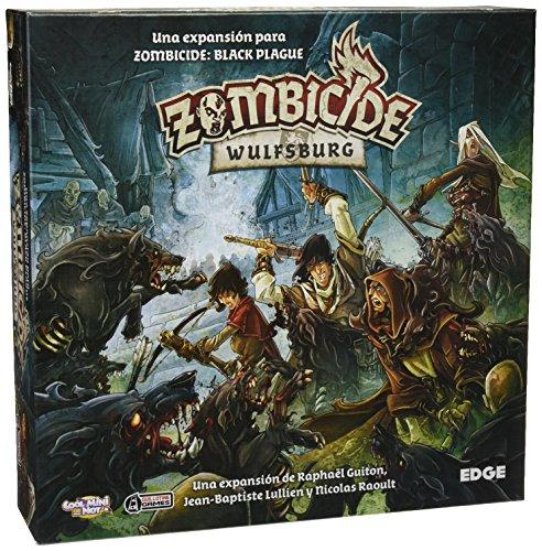 Comprar Edge Entertainment Zombicide - Wulfsburg, Juego de Mesa EDGBP002
