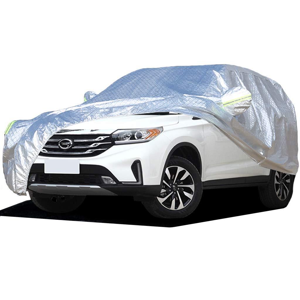 Smaw Bache Protection Voiture Anti Grele, Housse Auto Contre La Pluie, La Saleté, Le Rayon UV Durable SUV Protection VoiTure