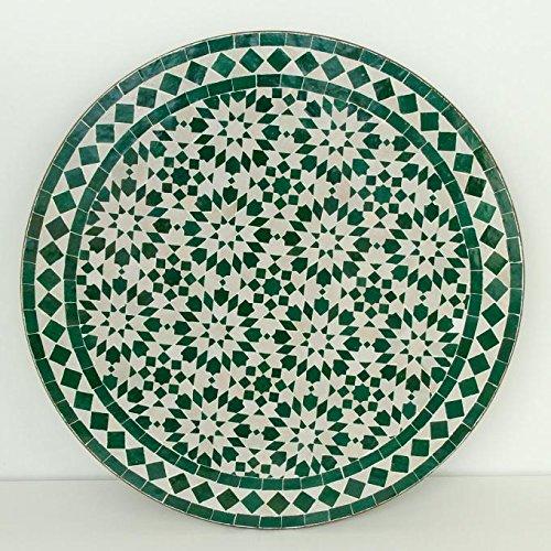 Casa Moro Orientalischer marokkanischer Mosaiktisch Gartentisch Mosaikkunst Bistrotisch Handmade...