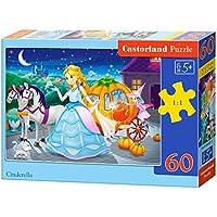 "Castorland B06908 Classic ""Cinderella"" Jigsaw Puzzle (60-Piece)"