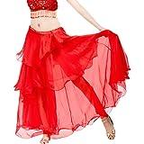 MagiDeal Jupe Danse Orientale Femme Jupe Gitane Longue Robe Longue ... 7cda0ebb19a