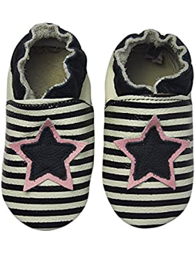 Rose & ChocolatRCC Star Stripe - Pantuflas de Aprendizaje Bebé-Niños