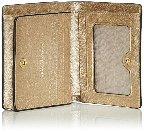 Michael Kors Jet Set Travel, Porte-documents Or (Pale Or  740)