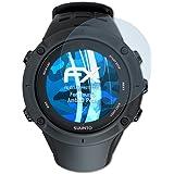 atFoliX Displayschutzfolie für Suunto Ambit3 Peak Schutzfolie - 3 x FX-Clear kristallklare Folie