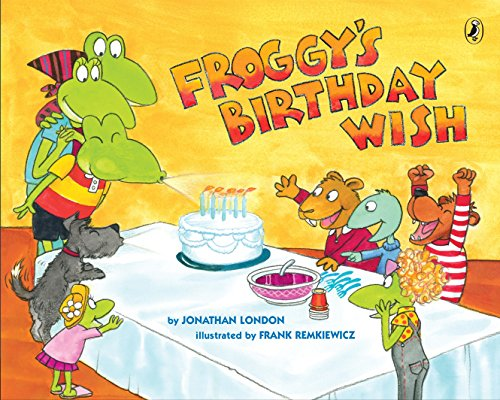 Froggy's Birthday Wish por Jonathan London