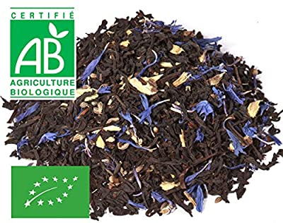 Thé noir à la Réglisse Bleuet Bio vrac 200g