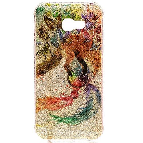 KM-WEN® Schutzhülle für Apple iPhone 7 (4,7 Zoll) Bling Farbmalerei Serie süß Muster Weiche TPU Case Cover Rückseite Schutzhülle Hülle für Apple iPhone 7 (4,7 Zoll) Farbe-10 Farbe-3