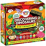 Genius Box 8 in 1 Activity & Learning Kit for Children : Discovering Dinosaurs Educational Activity Kit