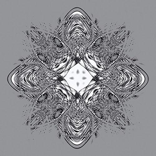 ndbild Deco Glass Ulrike Schäfer Origami Blüten Zauberhaftes Bild in der Technik der Origami Kunst Abstrakte Motive Muster Fraktale Digitale Kunst Blau C7XG (Float Dekorationen Ideen)