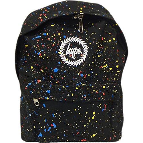 Just Hype Hype bag (Splash), Borsa a spalla uomo Black Multi Colour